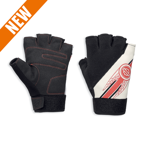 Harley-Davidson Arlee Coolcore Technology Women's Mesh Fingerless Gloves