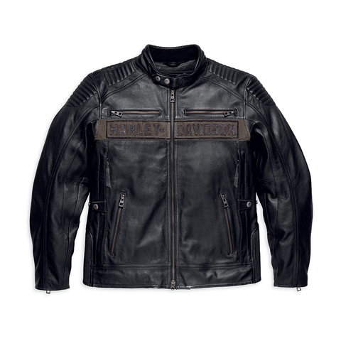 Harley-Davidson Asylum Men's Leather Jacket