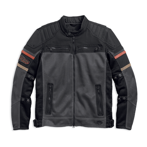 Harley-Davidson Valor Mesh & Textile Men's Riding Jacket