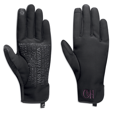 Harley-Davidson Kendel Women's Soft Shell Gloves