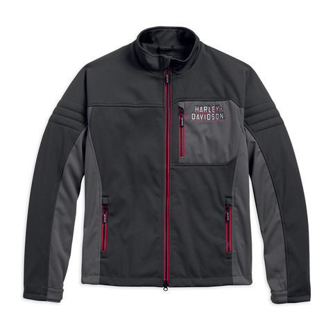 Harley-Davidson Furor Men's Windproof Performance Soft Shell Jacket