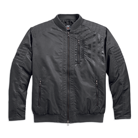 Harley-Davidson Intrepid Distressed Men's Nylon Jacket
