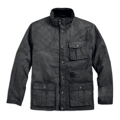 Harley-Davidson Chase Waxed Men's Field Jacket