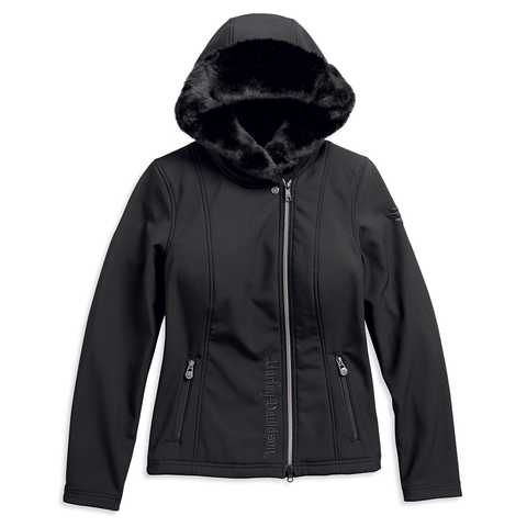 Harley-Davidson Hooded Women's Softshell Jacket