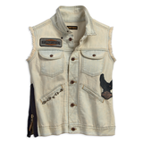 Harley-Davidson Side Zipper Denim Women's Vest