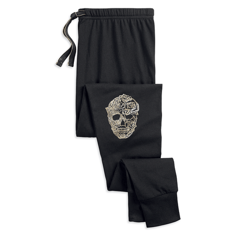Harley-Davidson Skull Ribbed Women's Sleep Leggings