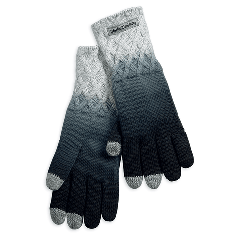 Harley-Davidson Ombre Knit Women's Gloves