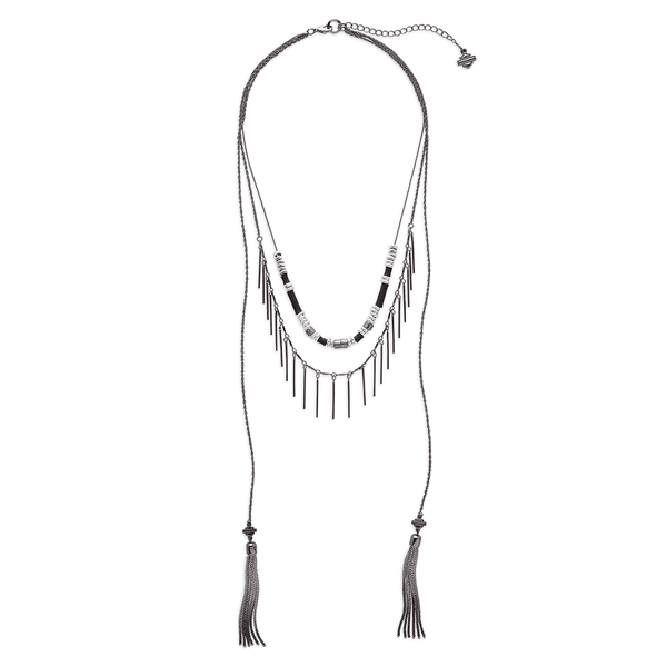 Harley-Davidson Multi-Chain Tassle Necklace