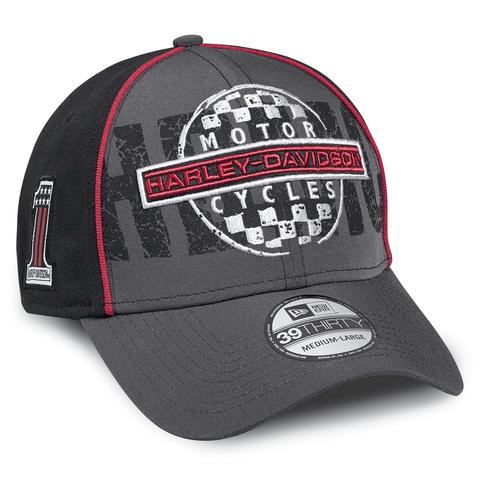 Harley-Davidson Checkerboard Men's 39THIRTY Cap