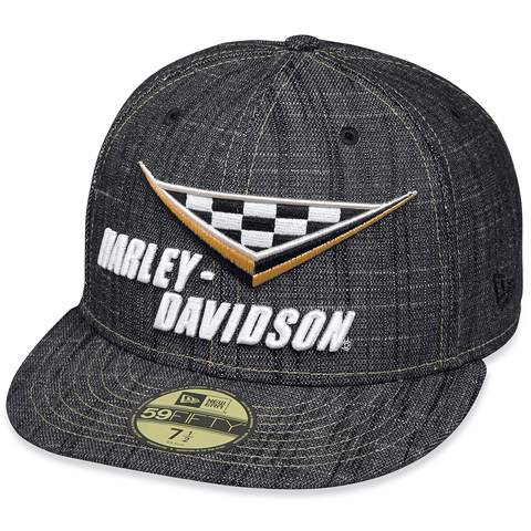 Harley-Davidson Race Flag Men's 59FIFTY Cap