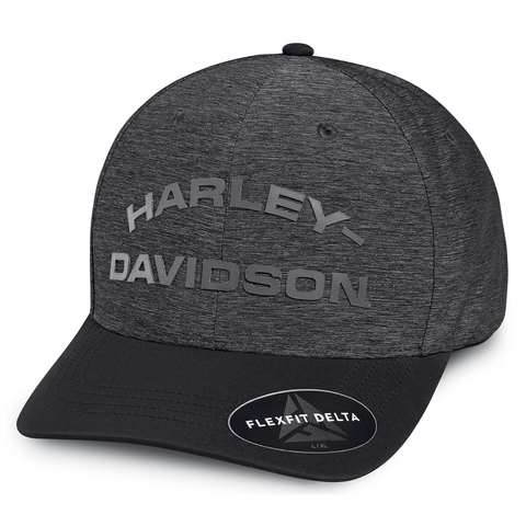 Harley-Davidson Tonal High Density Print Men's Delta Technology Cap