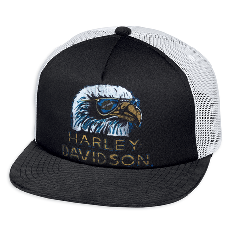 Harley-Davidson Retro Eagle Men's Trucker Cap