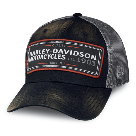 Harley-Davidson Eagle Print Men's 39THIRTY Cap