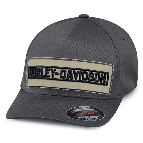Harley-Davidson Embroidered Patch Men's Cap