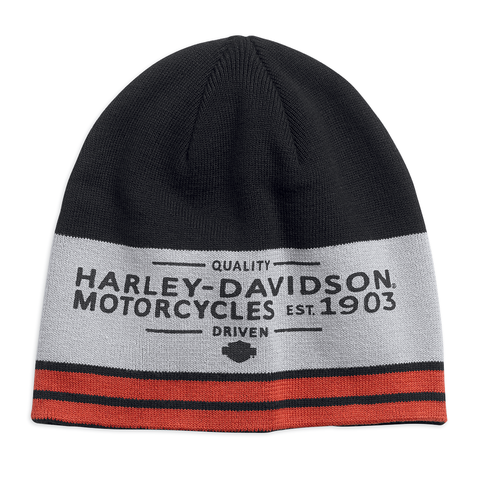 Harley-Davidson Colourblocked Men's Knit Hat