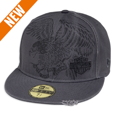 Harley-Davidson Oversized Eagle Men's 59FIFTY Cap