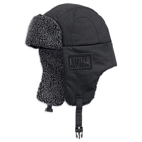 Harley-Davidson Sherpa Fleece Men's Aviator Cap