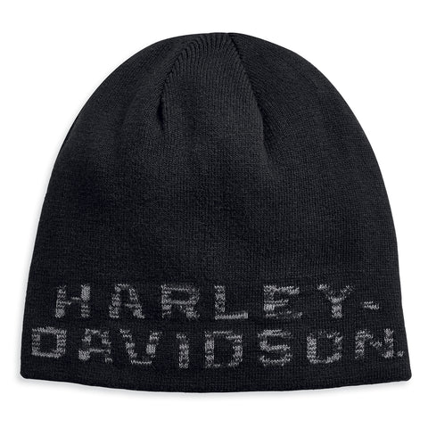 Harley-Davidson Reversible Heathered Men's Knit Hat