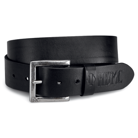 Harley-Davidson Debossed Men's Leather Belt