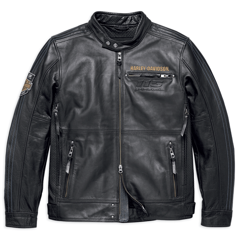 Harley-Davidson 115th Anniversary Men's Leather Jacket