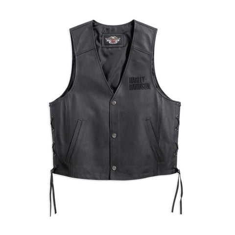 Harley-Davidson Tradition Men's Leather Vest