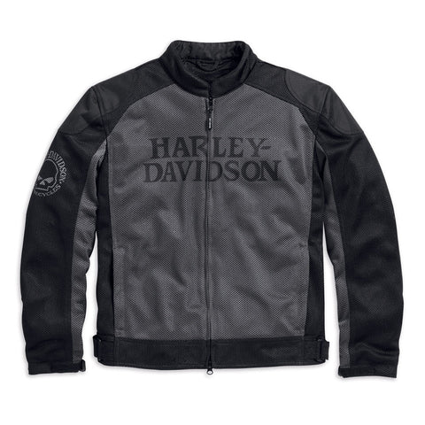 Harley-Davidson Skull Men's Mesh Riding Jacket