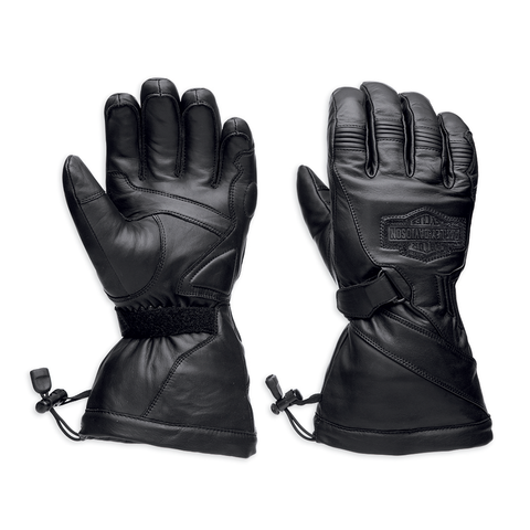 Harley-Davidson Circuit Waterproof Men's Guantlet Gloves