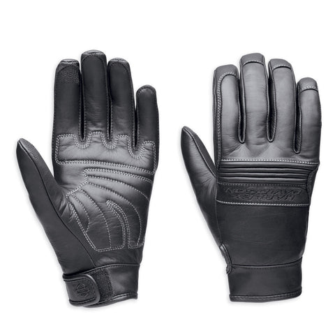 Harley-Davidson Tailgator Men's Full-Finger Gloves