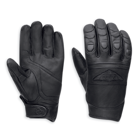 Harley-Davidson Distressed Men's Full-Finger Gloves