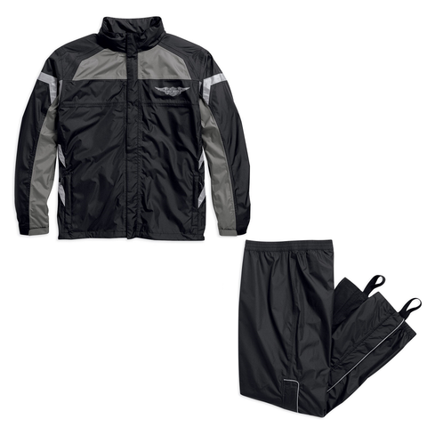 Harley-Davidson Full Speed Reflective Men's Rainsuit