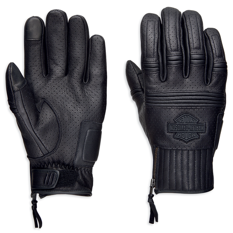 Harley-Davidson Layton Men's Perforated Leather Gloves