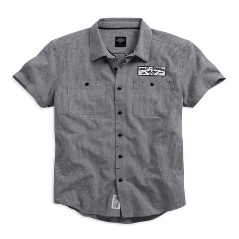 Harley-Davidson Mirco-Stripe Mechanic's Men's Shirt