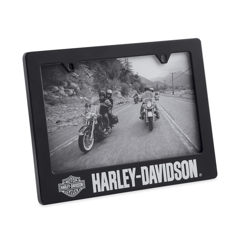 Harley-Davidson License Plate 4 x 6 Photo Frame