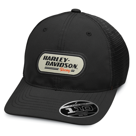 Harley-Davidson H-D Racing Patch Men's Trucker Cap