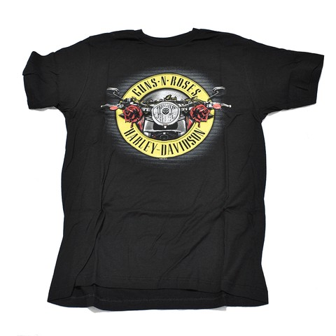 Harley-Davidson Guns N Roses Cover Men's Tee