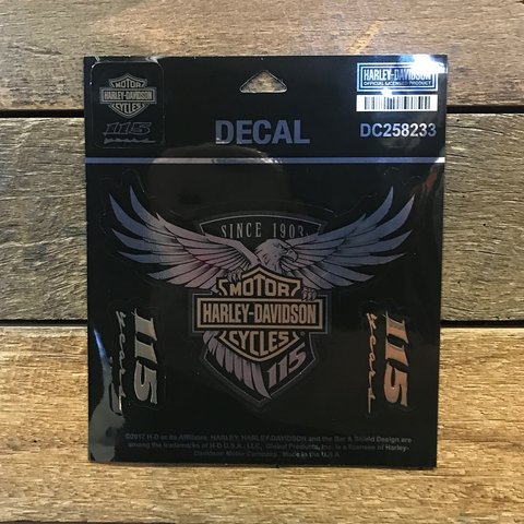 Harley-Davidson 115th Anniversary Decal