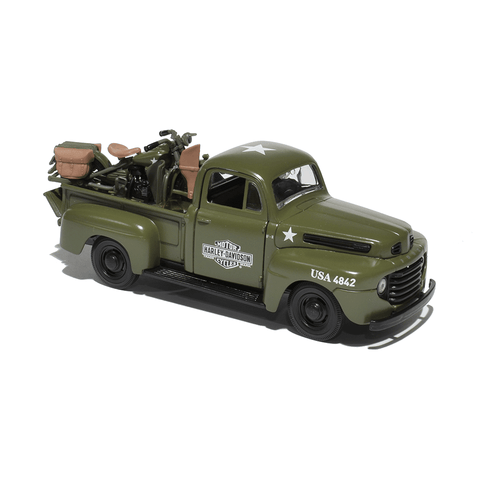 Harley-Davidson Ford F-100 1948 1:25 Model