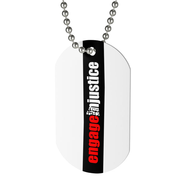 Engage Injustice Dog Tag