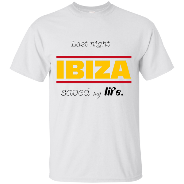 Last Night Ibiza Cotton T-Shirt