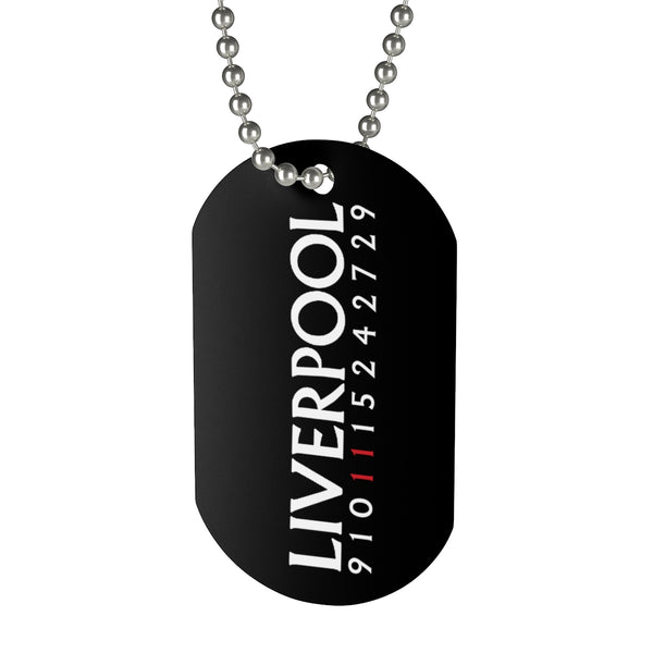 Liverpool Forwards Dog Tag