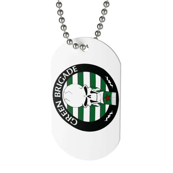 ULTRAS CELTIC GREEN BRIGADE Dog Tag