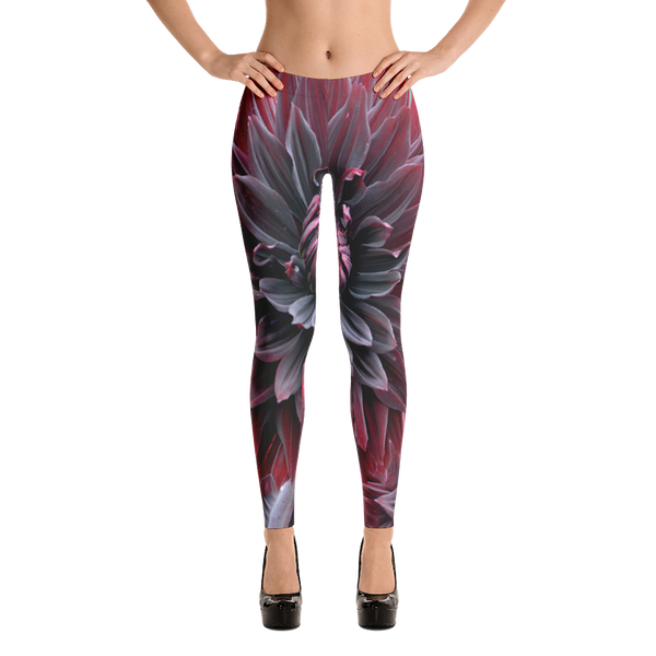 "XIAOYU ZHU™ ""Tortured Blossom"" LEGGINGS"