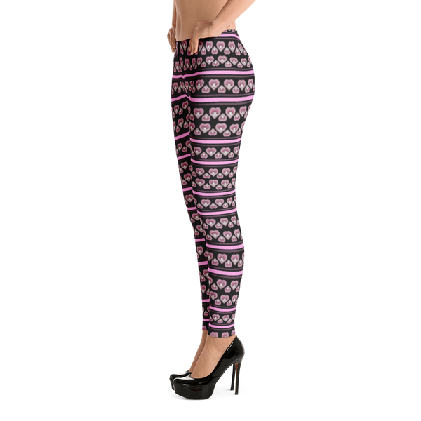 "XIAOYU ZHU™ ""Intricate Heart"" LEGGINGS"