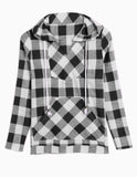 Women's HoodiesCotton Long Shirt Fit Blouse
