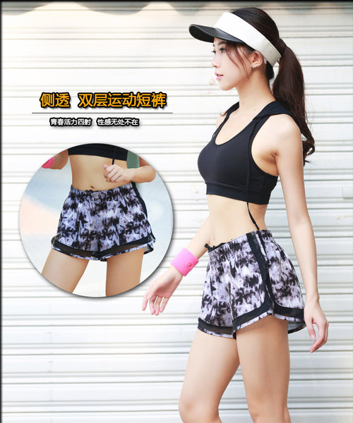 Double Layer Raver Girl Shorts