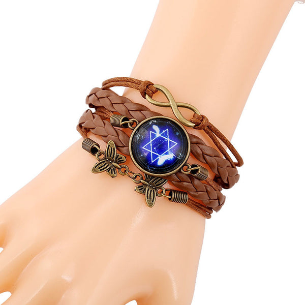 Multilayer Cosmic Nebula Bracelet