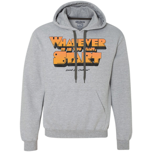 """Whatever It Is You Want, Start"" Men's Hoodie"