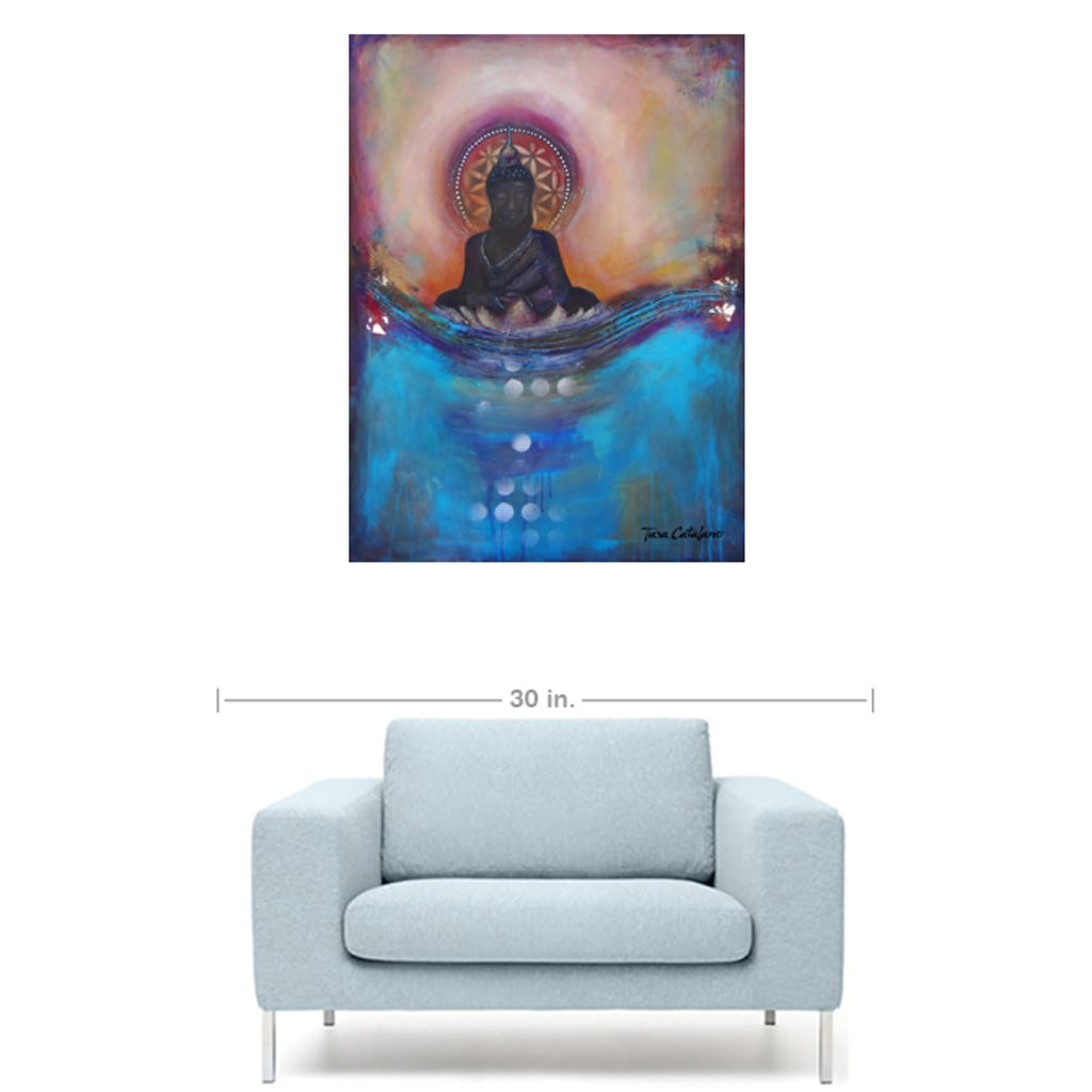 Self Reflection - Canvas print