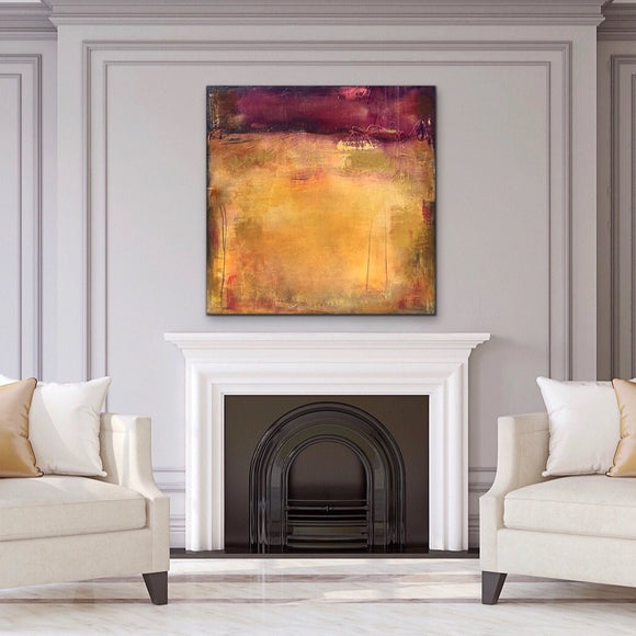 Cabernet Sunset - AVAILABLE at Casa de Artistas Art Gallery, Scottsdale, Arizona.