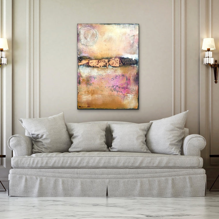 Desert Moon Crush - AVAILABLE at Casa de Artistas Art Gallery, Scottsdale, Arizona